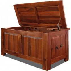 Banco Arcón madera Acacia