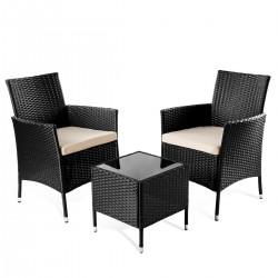 Conjunto 2 sillas y mesita...