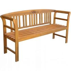 Banco jardín madera XXL