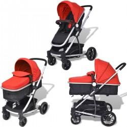 Cuco y silla bebé 2 en 1