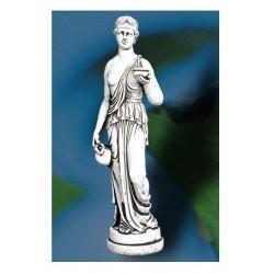 Estatua piedra jardín