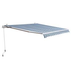 Toldo de aluminio plegable