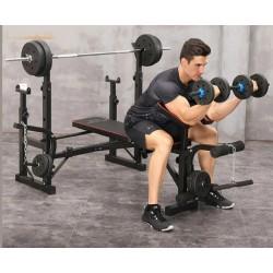 Banco de pesas musculación