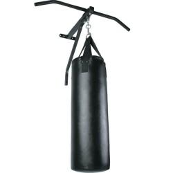 Barra dominadas y saco boxeo