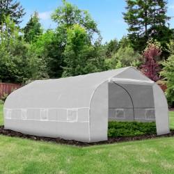 Invernadero blanco 6x3m