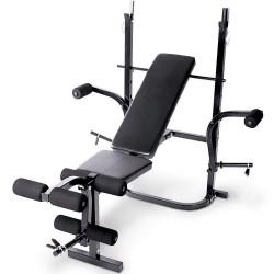 Banco pesas y musculación